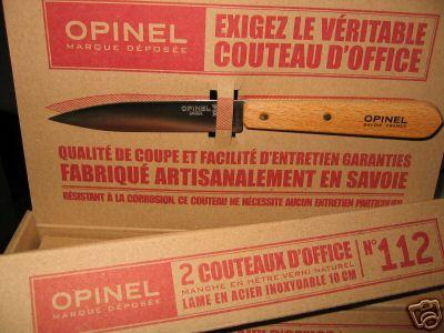 couteaux 4 office inox